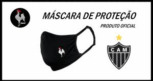 Máscara do Galo - Máscara Atlético Mineiro Oficial